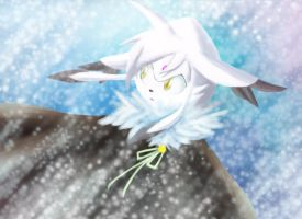 Dat Kitty in the Snow by Chobits13