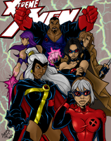 X-Treme X-Men COLORED 09 by LucasAckerman