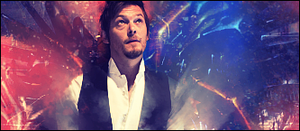 Norman Reedus by ZatchX17