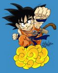 GOKU- coloured by Kaywaii-T