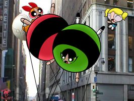 ThanksgivingParade Powerpuff 2 by TheEdMinistrator765