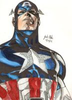 Steve Rogers by Shigdioxin