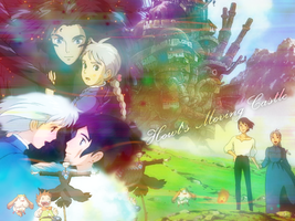 Howl's Moving Castle by r4venxx