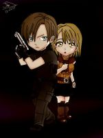 Leon S. Kennedy Save Ashley (RE4) by Jonathan010