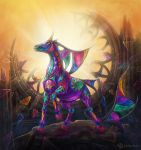 Stained-glass Horse by Lady-DreamArt