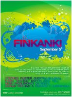Poster: Finkanki Boat Party 08 by nofx