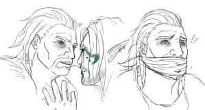 Ulfric Stormcloak: emotion practice 3 by SparklyFarts