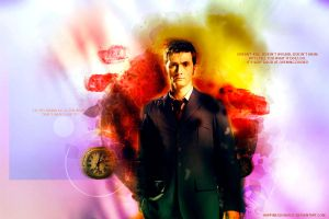 The tenth Doctor blend by HappinessIsMusic