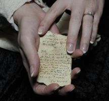 THE WEDDING RING BOX NOTE by WinterRoseASFR