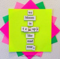 The Daily Magnet #94 by FridgePoetProject