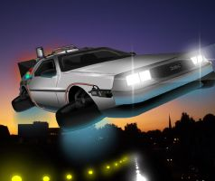 The DeLorean Mk II by Rootay
