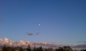 moon and clouds by CaseyDN