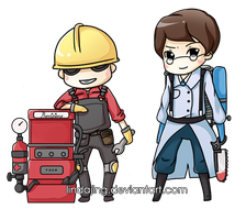 TF2 Chibis by Lindajing