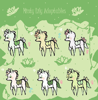 Misty Lily Baby Adoptables by Ask-MusicPrincess3rd