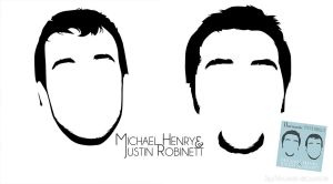 Michael Henry and Justin Robinett cover art by gulfrosk