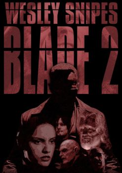 Blade II poster by Psubrat