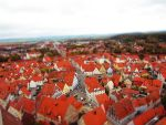 Red roofs of Nordlingen by Spwinkles
