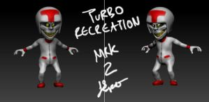 Recreating Turbo - mrk 2 3d sculpture by TheCreatorsEye