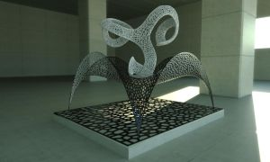 Voronoi Sculpture by LuxXeon