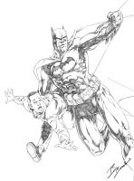 Batman saving my A$$ by BeniaminoBradi