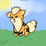 Growlithe Gifty by Mawii-Paws