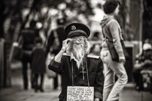 Old Chinese Beggar by joebbowers