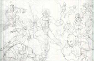 ThunderCats Pencils by SaviorsSon