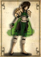 Sira The EarthBender by OhSadface