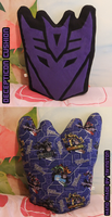 Decepticon Cushion by tavington