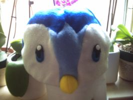 Piplup hat by hoshi-kagami