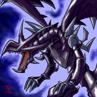 Red Eyes Black Dragon by Nagrarok