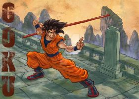 Goku remastered by mistermoster