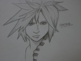 Cloud Strife 2 by TykiFREAK