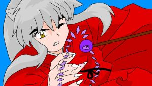 InuYasha - colour by AccessFan