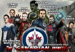 The Canadian Avengers (NHL Version) by jeremymazumia