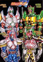 The Category Ace Riders by tendou
