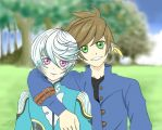 Everlasting moments~ Sorey and Mikleo by ShuliChan