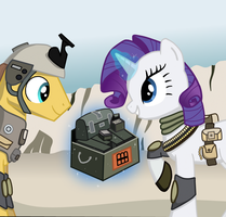Battlefoals 3: Rarity's Generosity by MissTickles