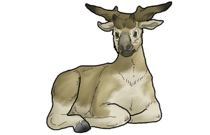 Sivatherium by WSnyder