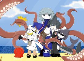 Wadanohara and The Great Blue Sea by Runnie-the-cheetah