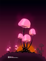 Moonfungi by dronsu