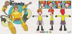 Model sheet - Doc Mclamity by Captain-Paulo