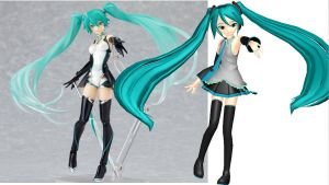 Miku Figma pose Download by RiSama