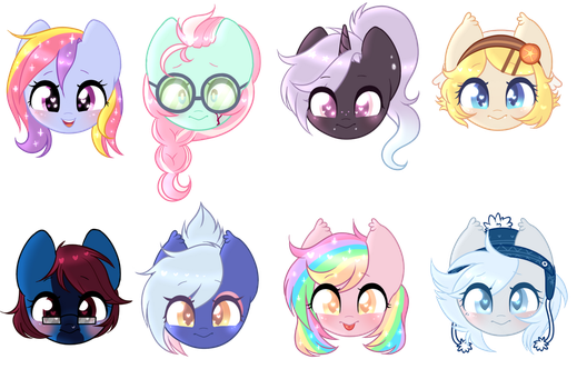 bobble head batch by cinnamon-bum