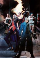 Devil May Cry 4 SE All by incneetX666