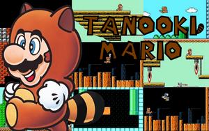 Tanooki Suit Classic Wallpaper by superskeetospro