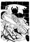 Grimlock cover inks by MarceloMatere
