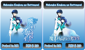 Mahouka Koukou no Rettousei - Anime Icon by Rizmannf