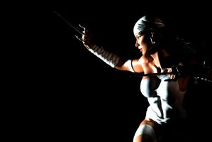 Elektra White Comiquette by Figure-Gallery