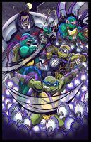 TMNT: Mouser Melee by geogant